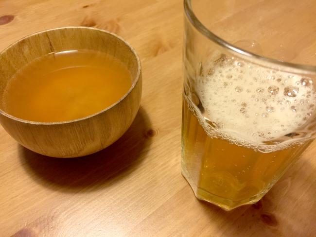 具なし味噌汁と酵素ドリンク